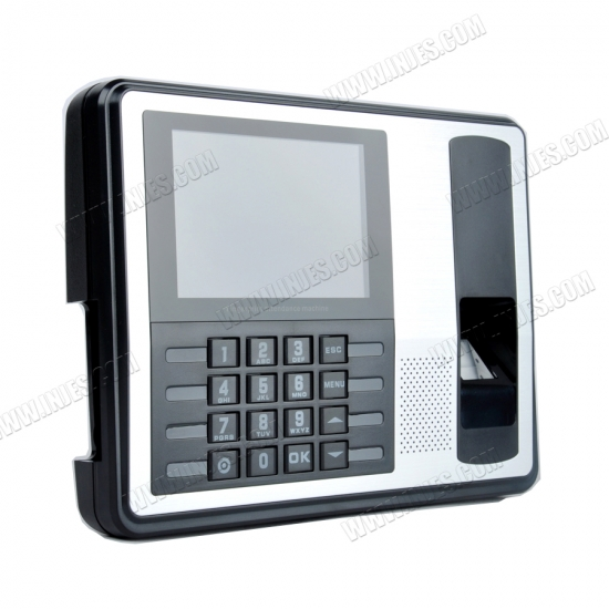Biometric Intelligent Face Time Attendance Recognition Time Clock USB//Ethernet